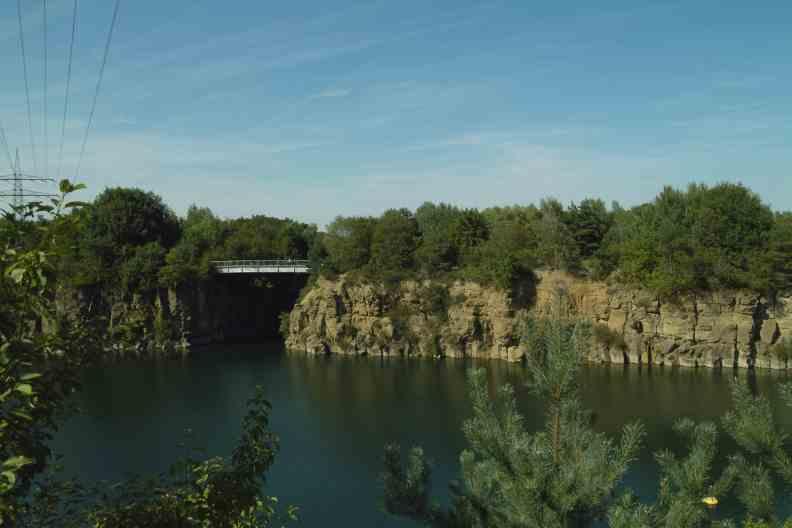 Steinbruch   Heute See   Dietesheim Steinbrüche Bei Dietesheim